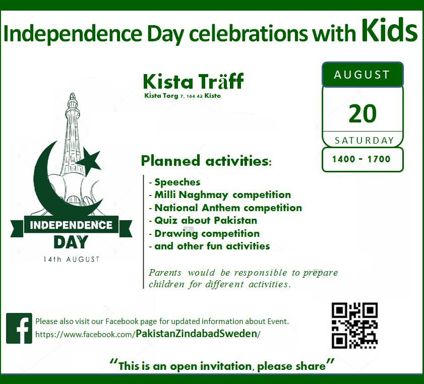 Pakistans independence day with a literary event for children 20th pakistans independence day with a literary event for children 20th august saturday stopboris Image collections